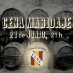 Cena Maridaje el 21 de junio con Kabanova Restaurante y Bodegas CVNE