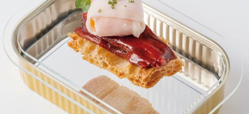 La tapa Pasión de cristal, del restaurante Pasión por ti, finalista del XVI Concurso de Pinchos de La Rioja