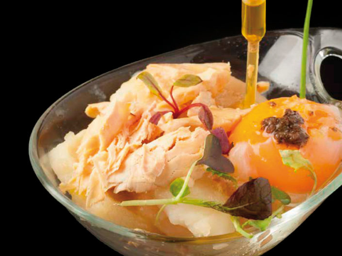 La tapa Trufoie, del restaurante Pasión por ti, se alzó con el premio del público en el XV Concurso de Tapas de La Rioja