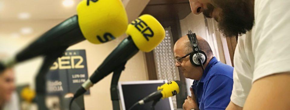 El Grupo Pasión presente en la Cadena SER La Rioja con el podcast Pasión por la cocina