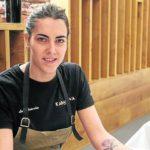 """Lucía Grávalos, chef de Kabanova: """"Se está reconociendo más la gastronomía riojana"""""""