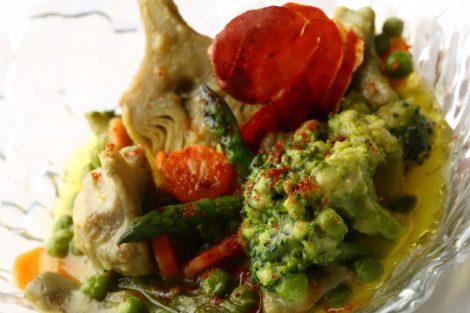 Menestra fresca de verduras de nuestra huerta