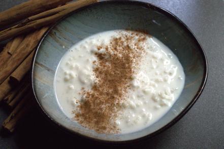 Arroz con leche casero